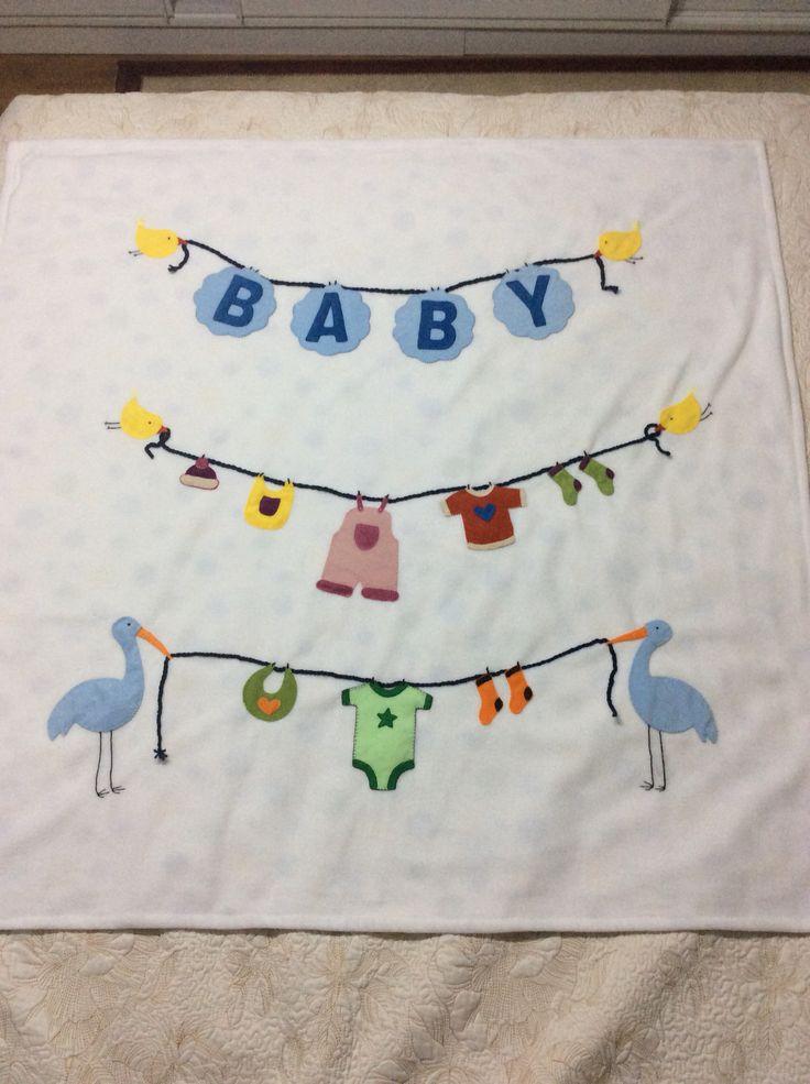 Bebek battaniyesi, baby, polar, elişi, handmade..