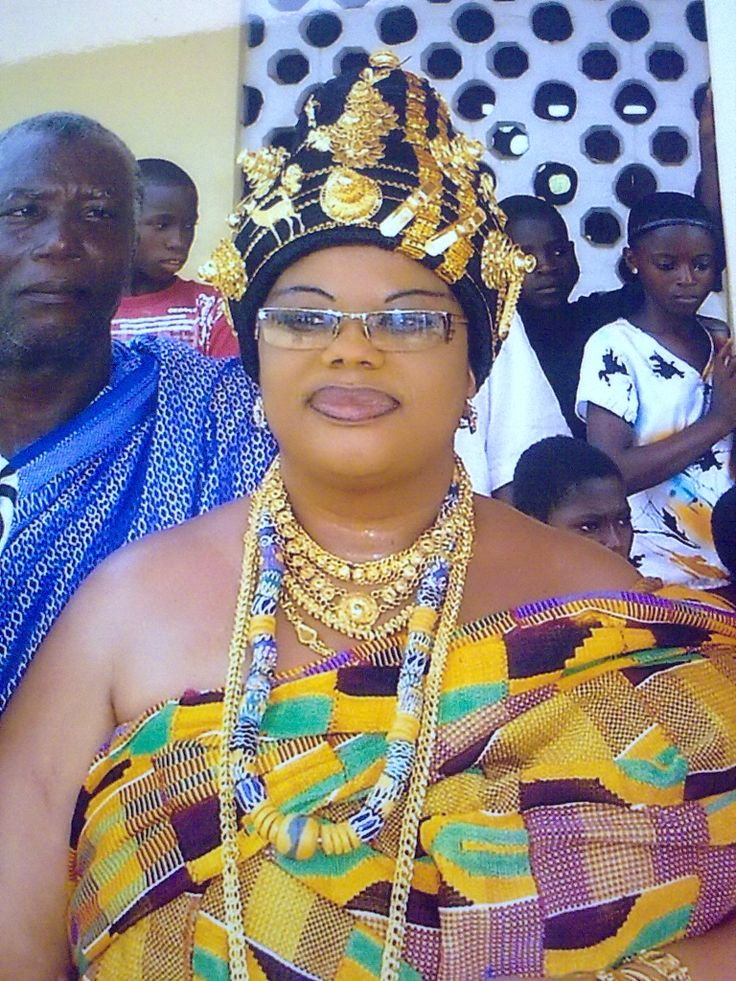 Queen Mother Abura State Central Region Ghana African