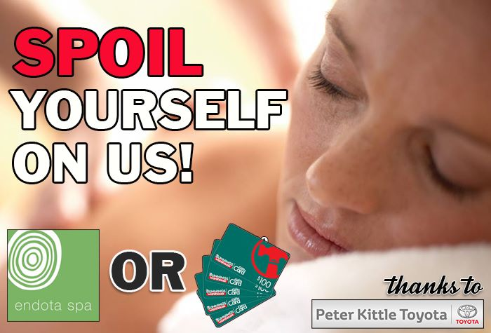 Spoil Yourself with an Endota Spa or Bunnings Gift Card