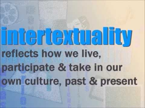 Inter - what?! a short introduction to the literary term INTERTEXTUALITY. It's all about how our culture influences our book writing.