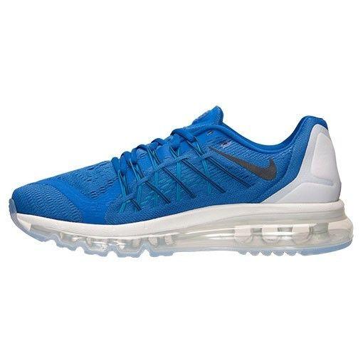 0ca93876eaa Nike Air Max 2015 Mens Sneakers Game Royal Black White Blue Legion 698902  400