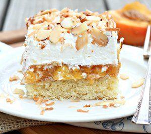 Better Than Anything Peach Cake | RecipeLion.com