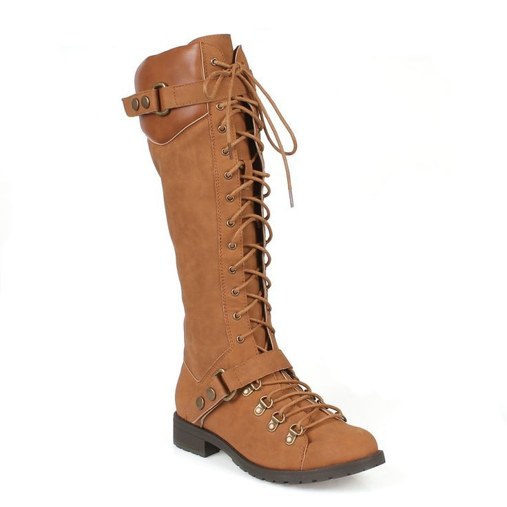 Mark and Maddux Travis-22 Up Women's Military Boots