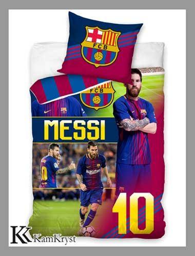 Najnowsza propozycja pościeli z Kolekcji FC Barcelona - już wkrótce w sprzedaży.