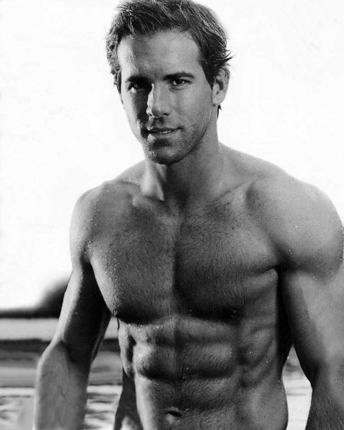Body: Ryan Reynolds has the body of our ideal man because...well...um...is an