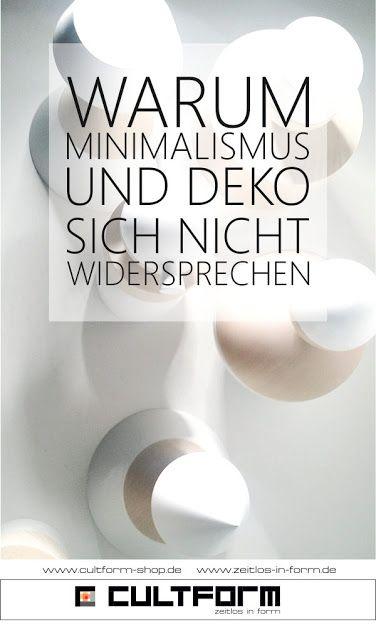 Minimalismus und Dekoration - (k)ein Widerspruch
