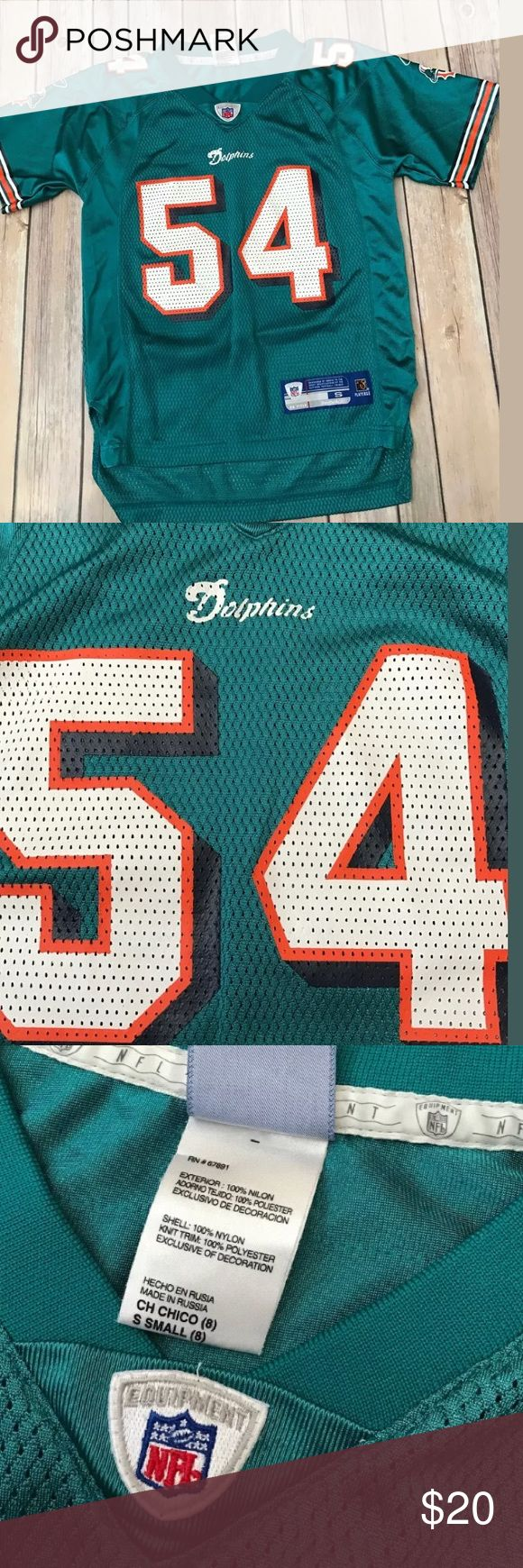 Youth Miami dolphins thomas jersey Sz Small 8 Youth small Reebok NFL Team Apparel athletic sportswear brand Miami Dolphins Zach Thomas #54 football jersey. Overall excellent condition     Smoke/pet free home Reebok Shirts & Tops