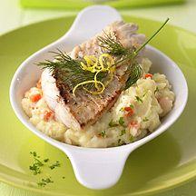 Fischfilet mit Gemüsepüree PP 6