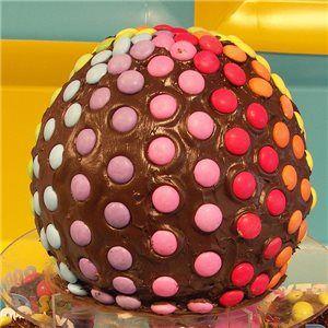 Disco Ball Cake, disco party food