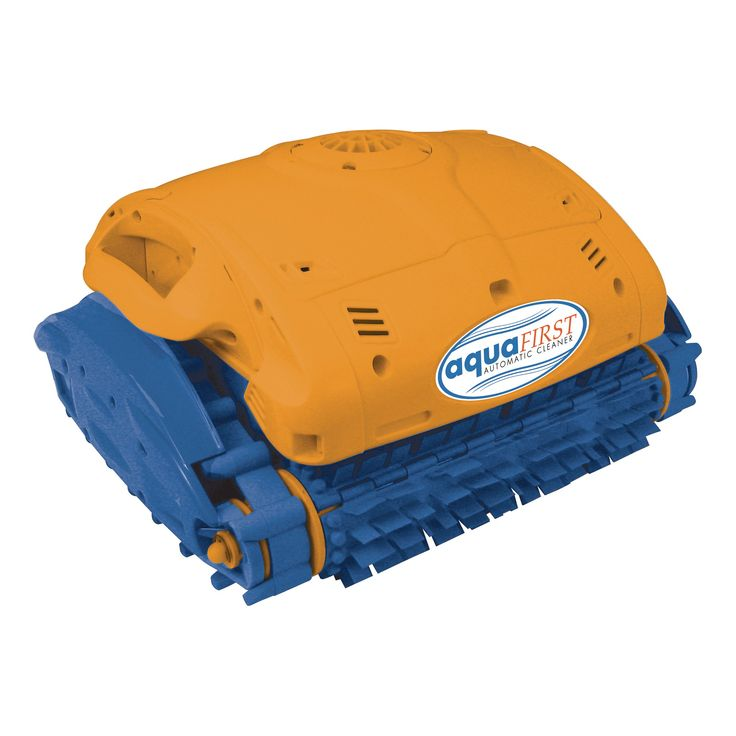 Aquafirst Robotic Cleaner for In Ground Pools, Orange