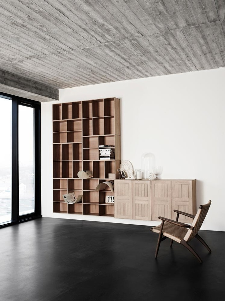 MK40880 Shelf from Carl Hansen & Son. #Design by Mogens Koch.