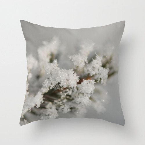 Winter Pillows Earthy Chic Home Decor by CrystalGaylePhoto on @Etsy $30.00