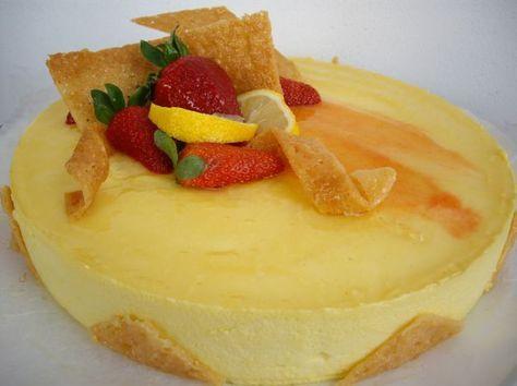 Ricetta torta mousse al limone | Ricette di ButtaLaPasta