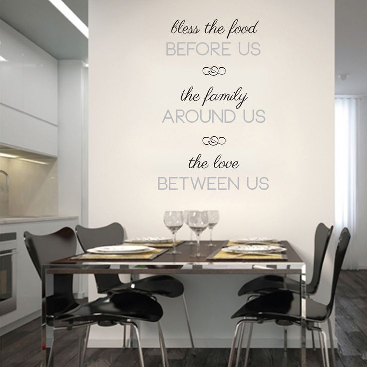 Best Kitchen Wall Decals Images On Pinterest Kitchen Walls - Dining room wall decals
