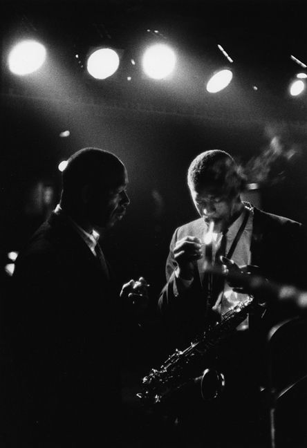 Backstage at the Metronome, New York City, 1960, Jazz