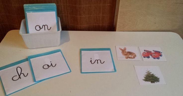 Ces pochettes d'images sont un matériel d'introduction aux 1ers phonèmes à graphies complexes. Il est présenté à l'enfant juste après ...