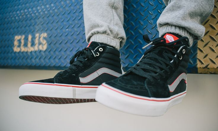 Vans is celebrating Active Ride Shop's 25 year anniversary with a special limited edition collaboration on the Sk8-Hi.