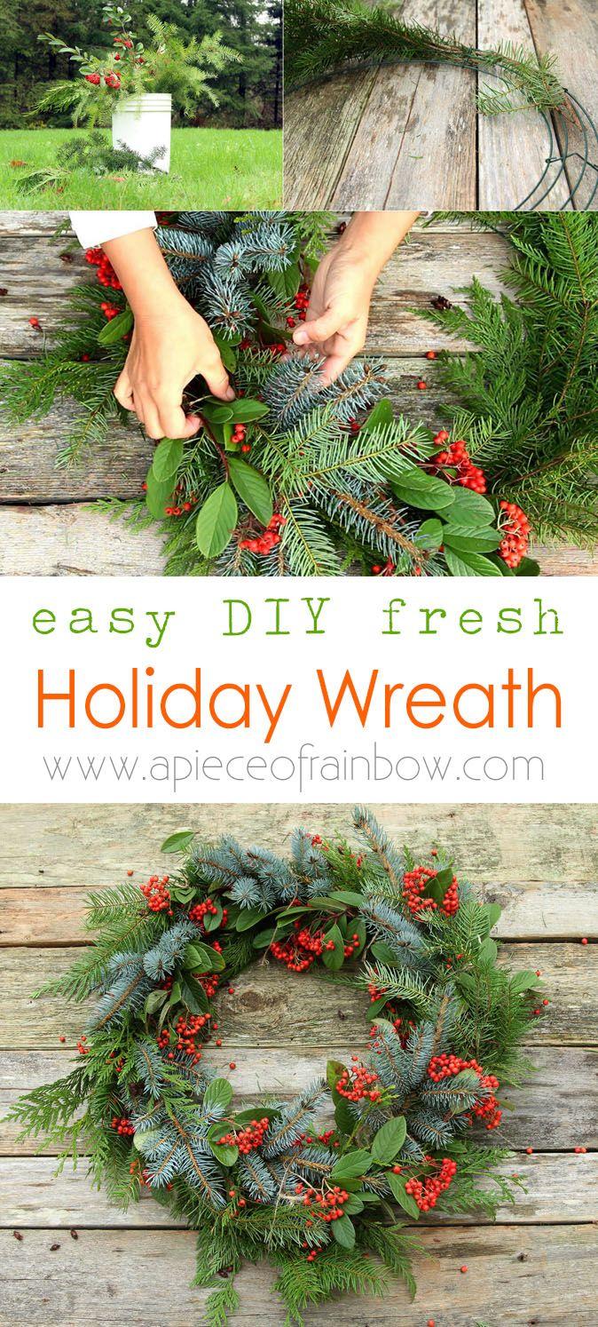 diy-fresh-christmas-wreath-apieceofrainbow-1