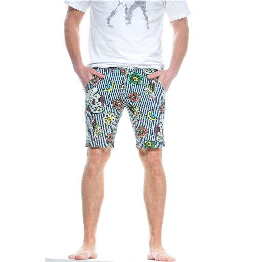 Iron Fist Men's Filthy Landlubber Shorts, 100% Cotton. Alternative Clothing