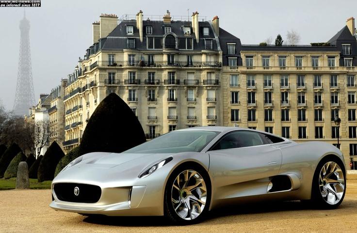 Jaguar Hybrid Car  Source: http://www.wc-news.com/jaguar-hybrid-c-x75-concept-jaguar-cars-and-williams-f1/