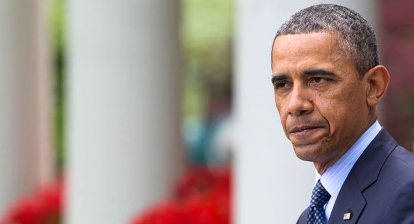 April 17, 2013 - Gun control: President Obama's biggest loss - Barack Obama is shown speaking in the Rose Garden about the failed gun control vote, April 17, 2013.   AP Photo