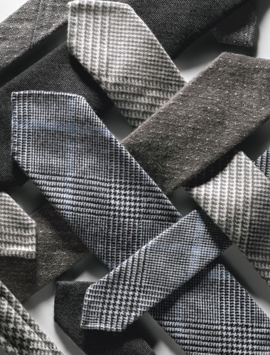 Cashmere ties.