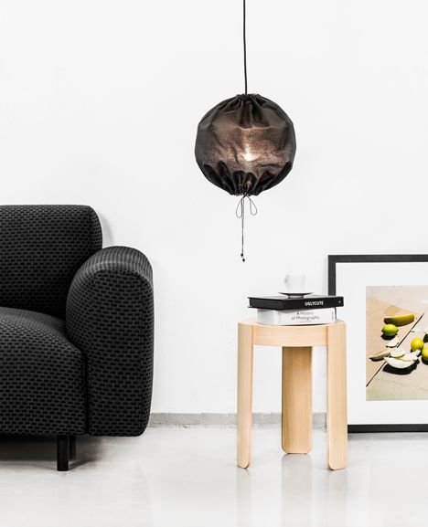 That pendant light!  Interactive slideshow: One Nordic Furniture Company extends flat-pack furniture range