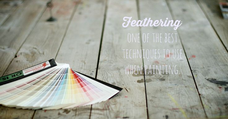 Don't know what feathering is? Check out paintedtable.net to sign up for a painting class and learn all you need to know about painting your furniture and cabinets.