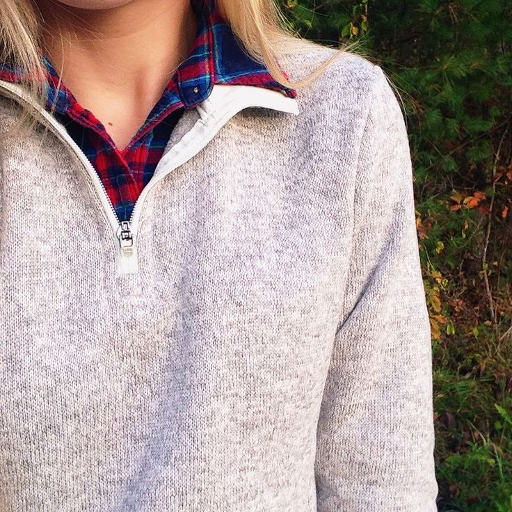 Charles River Apparel Heathered Pullover Zip Fleece Instagram: @kdbelle4
