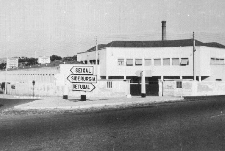 Seixal - Fogueteiro, Fabrica de Texteis