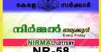 www.keralalotteryresult.net kerala lottery  2.03.2018 Nirmal Lottery NR-58 Result   Kerala Lottery Result