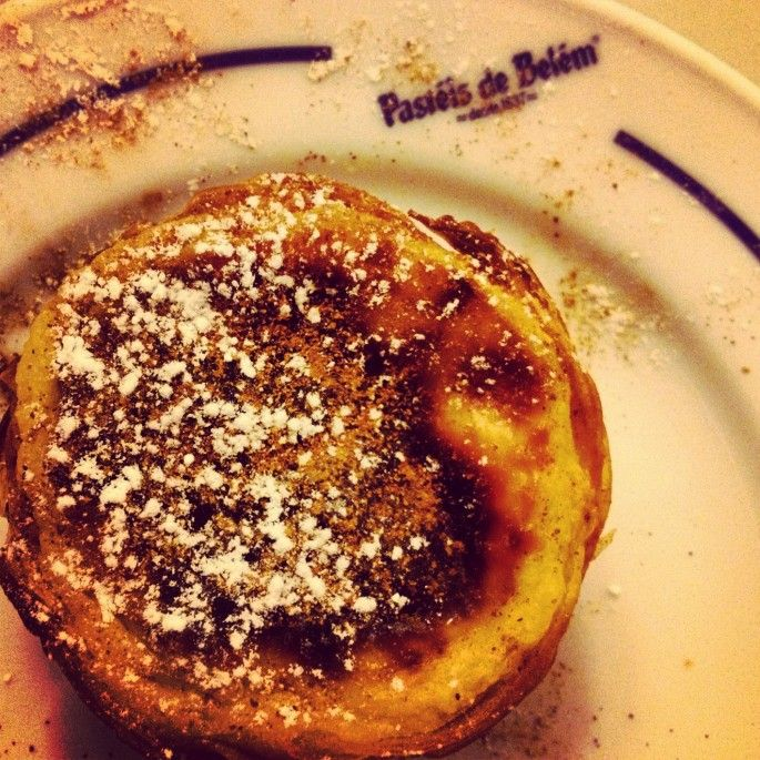 How to Eat (& Drink) your way around Portugal  Via Savoir There | 18.09.2012  The original Pasteis de Nata at Belem