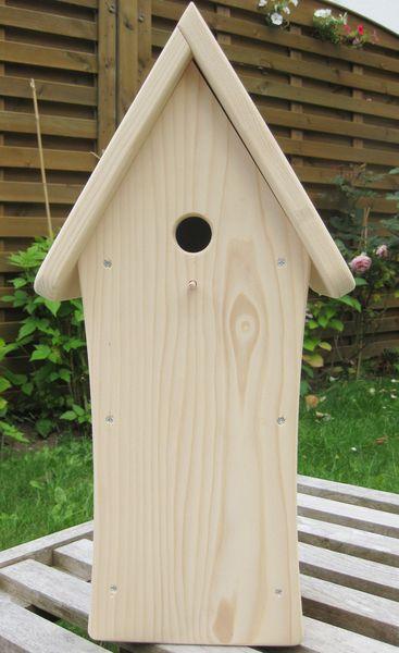 Nistkästen & Vogelhäuser - Vogelhäuschen - Nistkasten für Meisen - ein Designerstück von kunstbedarf24 bei DaWanda