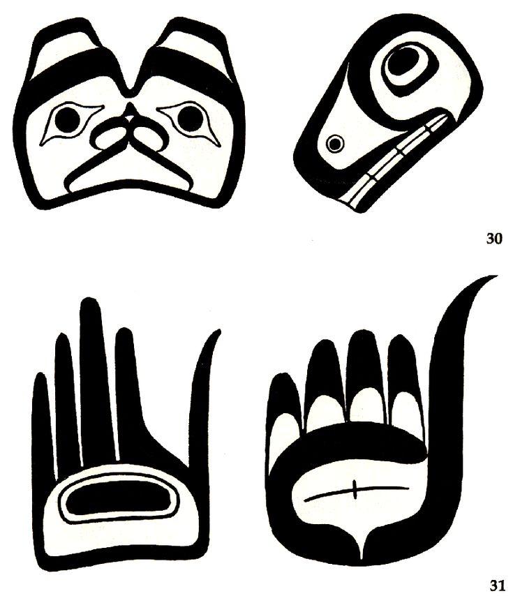 Haida art shapes.