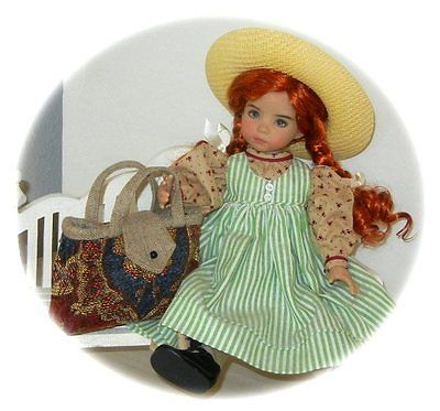 "ANNE  GREEN GABLES  PORTFOLIO OF PATTERNS 4 Effner 13"" Little Darling  !!"
