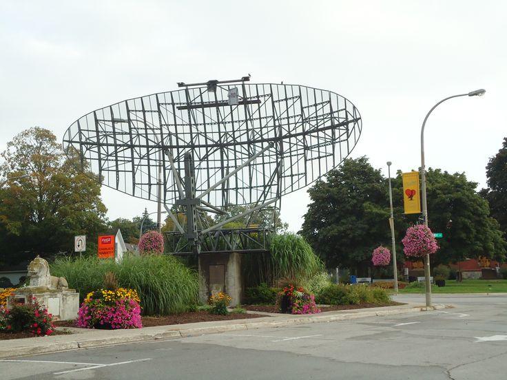 Old radar, Clinton, Ontario