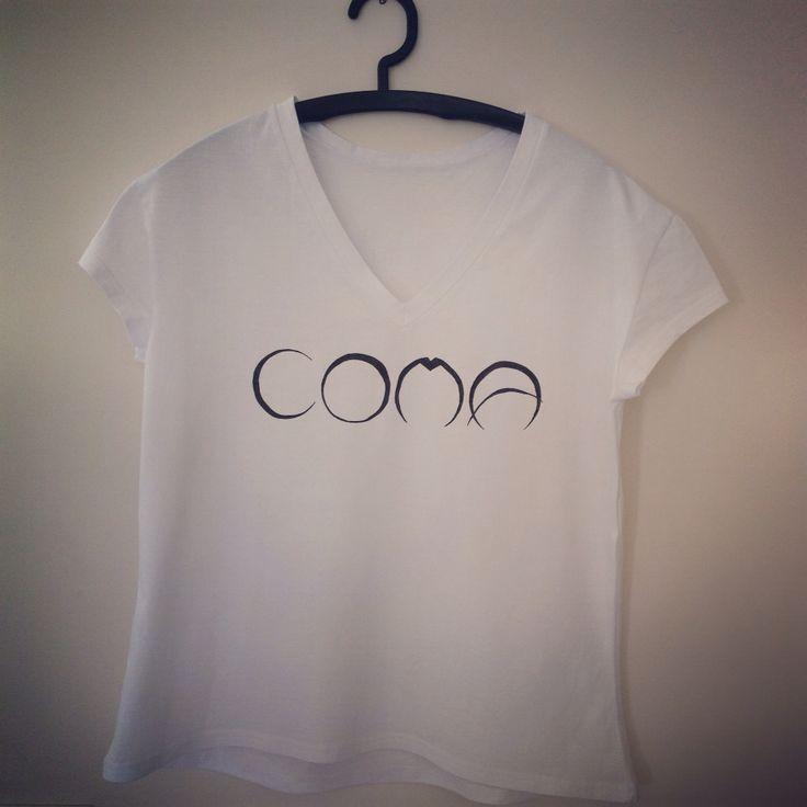 """""""Coma"""" koszulka ręcznie malowana"""