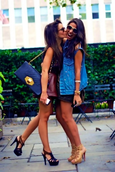 : Girls, Fashion, Best Friends, Style, Clothes, Bestfriends, Outfit, Bff, Closet