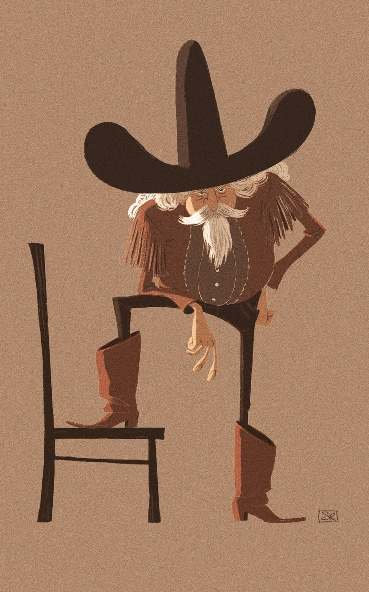 seb rouxel: Buffalo bill