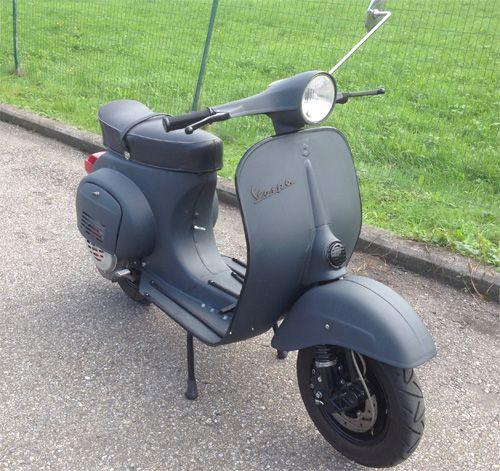 Vespa v50 RAL 7016 Anthrazitgrau Matt