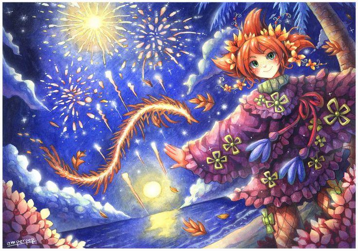 Fairy Oak : Pervinca Periwinkle by emperpep.deviantart.com on @DeviantArt