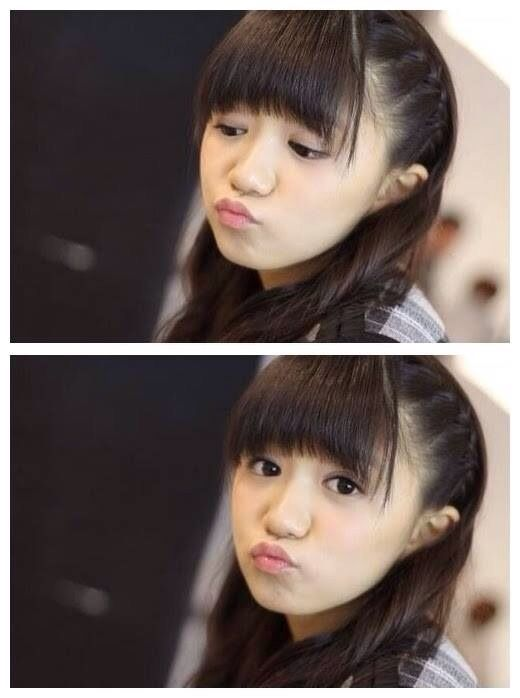 Moa | She can even make the duck face cute!