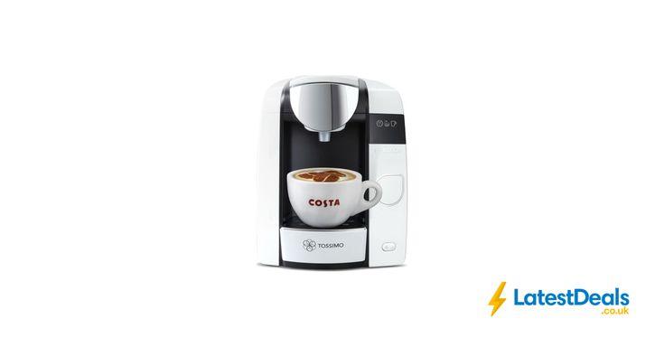 TASSIMO by Bosch Joy Coffee Machine - White, £69.99 at Currys PC World