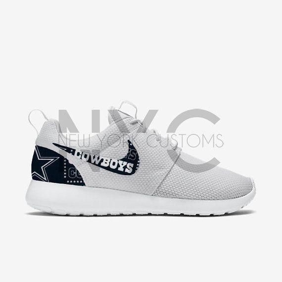 Dallas Cowboys Version 2 Nike Roshe One Run Custom by NYCustoms