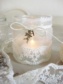 Maison de Plaisance: Dušičkový svícen