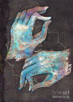 """Tilly Campbell-Allen - Anahata - heart chakra mudra Abre el chakra del corazón (verde) Este chakra es todo sobre el amor, el cuidado y cariño . Cuando está abierto, usted parece ser compasivo y amable, siempre trabajando en las relaciones amistosas. Si se trata de menores de activos: se tiende a ser frío y antipático. Si es más activa: se tiende a ser tan """"cariñoso"""" hacia las personas que les asfixian, y que podría ser visto como egoísta por ello."""