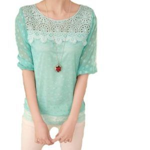 LQXin Chiffon Blouses for Women Fashion 2016 Half Sleeve Shirts Lace Top Clothes #myrrhshop #onlineshoppingnetwork #onlineshopping #onlineshop #blousesandshirts #buyblouse #buyshirt #fashionforwomen #LQXinChiffonBlouses http://fashionforwomen.myrrhshop.com/product/lqxin-chiffon-blouses-for-women-fashion-2016-half-sleeve-shirts-lace-top-clothes/