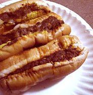 Hot Dog Sauce- Fairmont, WV (this just made my day!) I could go for one of these with chocolate milk