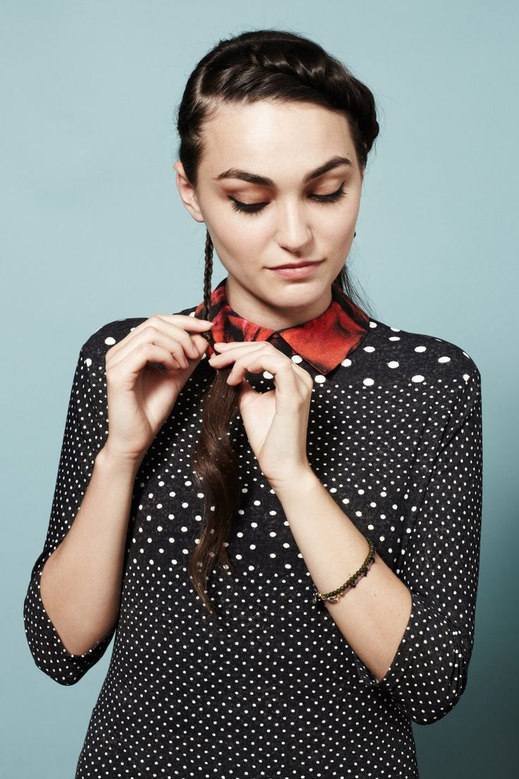 Secure the two cornrows with elastics. #refinery29 http://www.refinery29.com/45521#slide-33