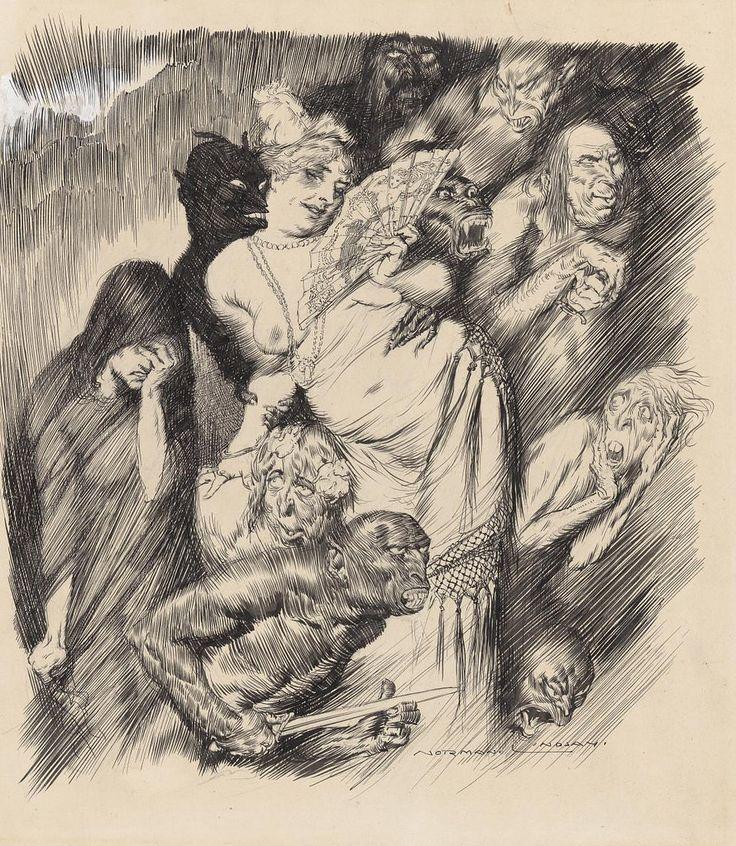 Norman Lindsay - Gathering of the Shades, 1917.jpg